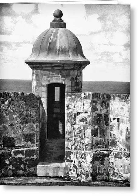 San Juan Sentry Post Greeting Card