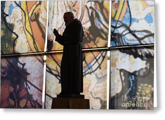 San Pio Greeting Card