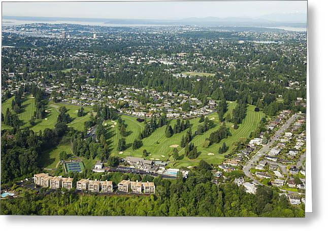 Sand Point Country Club And Golf Greeting Card
