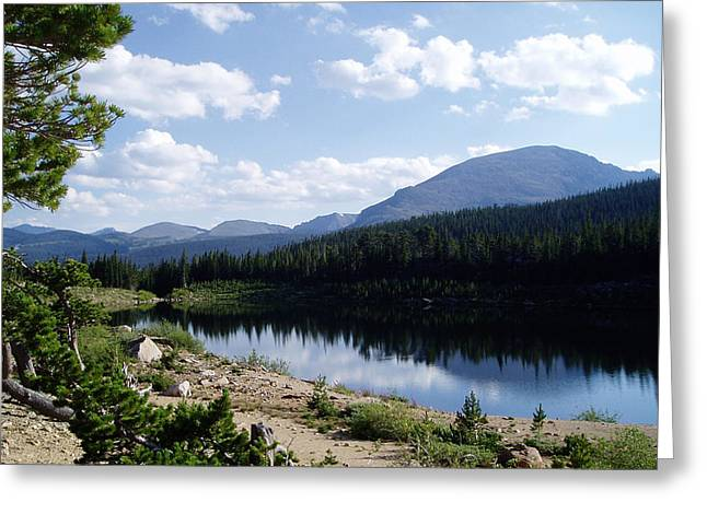 Sandbeach Lake Greeting Card