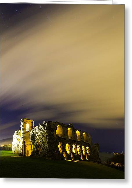 Sandsfoot Castle  Greeting Card by Ollie Taylor