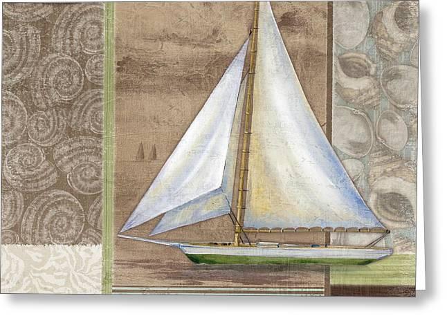 Santa Rosa Boat II Greeting Card