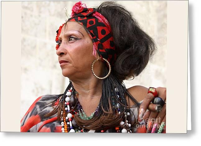 Santeria Woman Greeting Card
