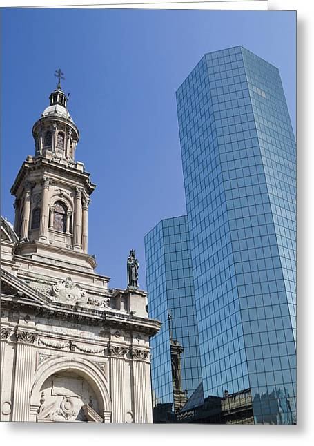 Santiago Chile South America Greeting Card