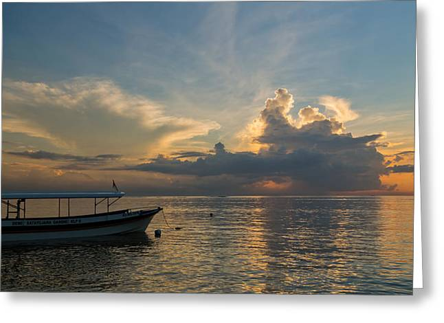Greeting Card featuring the photograph Sanur Beach - Bali by Matthew Onheiber