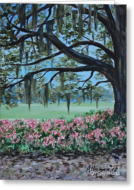 Savannah Spring Greeting Card