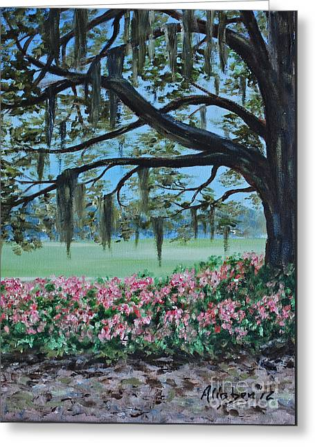 Savannah Spring Greeting Card