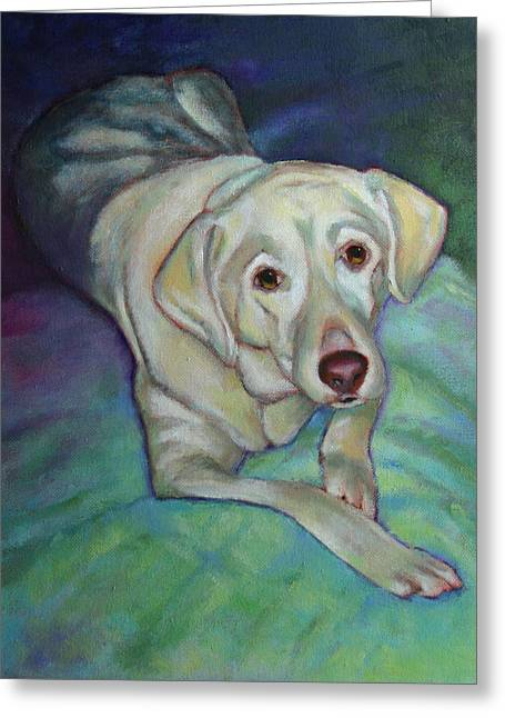 Savannah The Dog Greeting Card