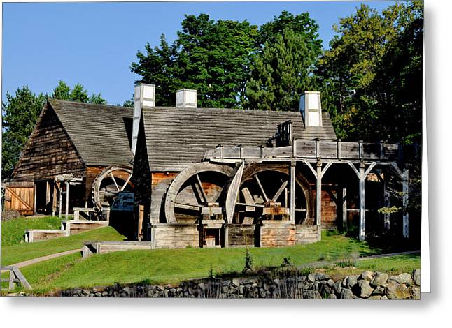 Scenic Iron Works Greeting Card