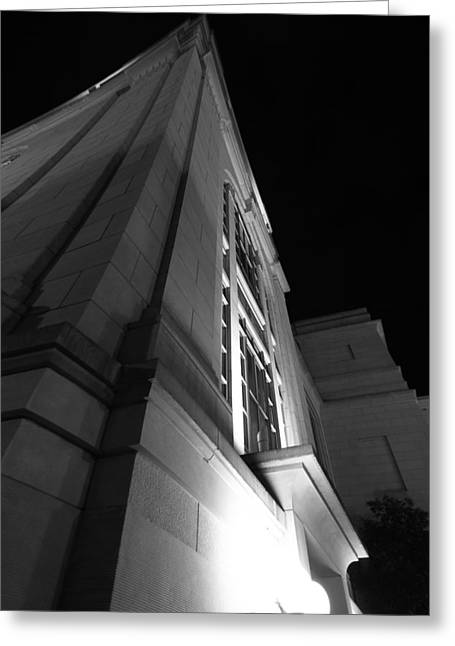 Schermerhorn Symphony Center  Greeting Card by Dan Sproul