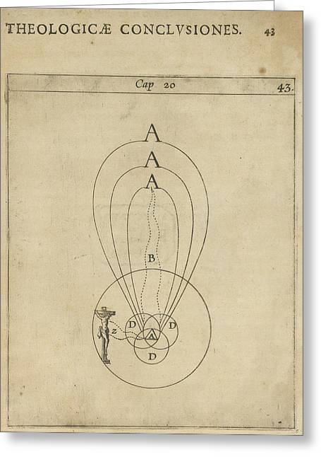 Scientific Diagram Greeting Card by British Library