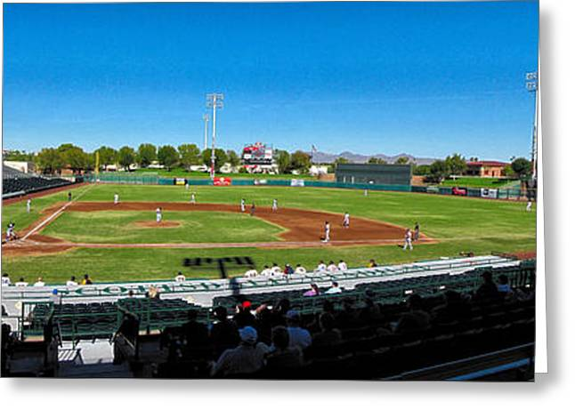 Scottsdale Stadium Greeting Card