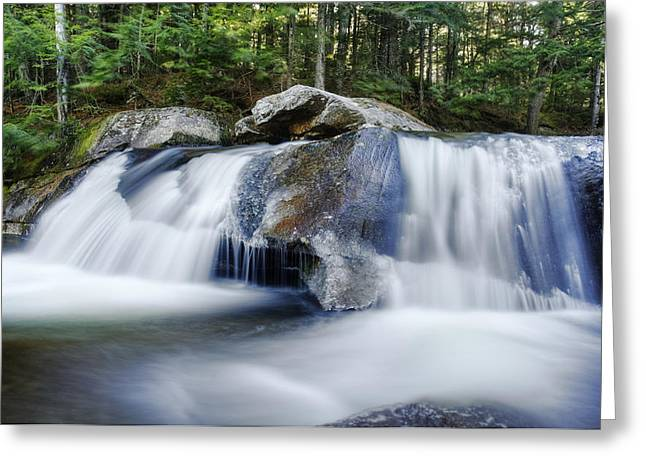 Screw Auger Falls Greeting Card