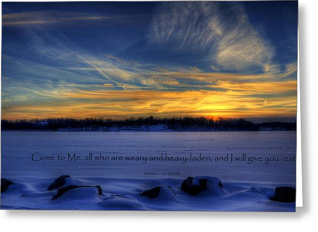 Scripture Photo Greeting Card