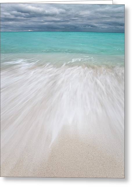 Seascape, Beach, Hawaii Greeting Card by Daisy Gilardini