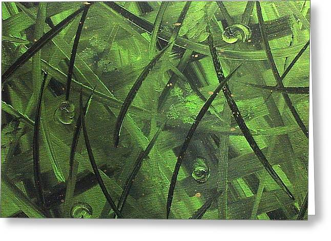 Seaweed Greeting Card by Lisa Williams