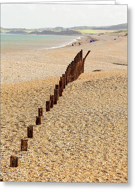 Second World War Defences Greeting Card by Ashley Cooper