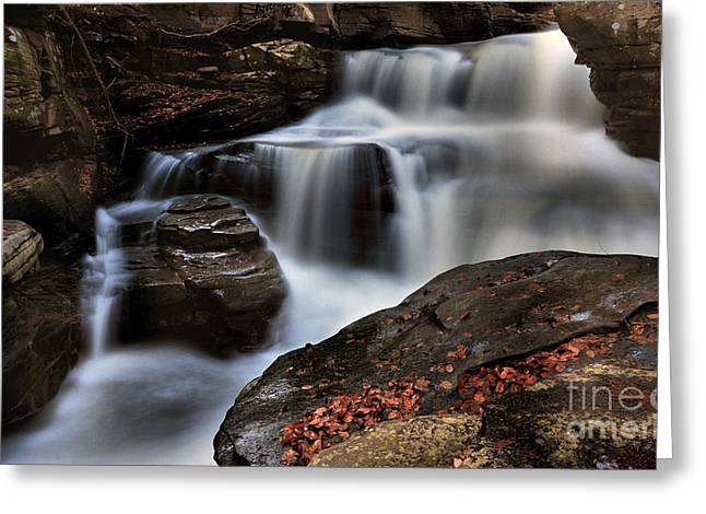 Secret Waterfall Greeting Card