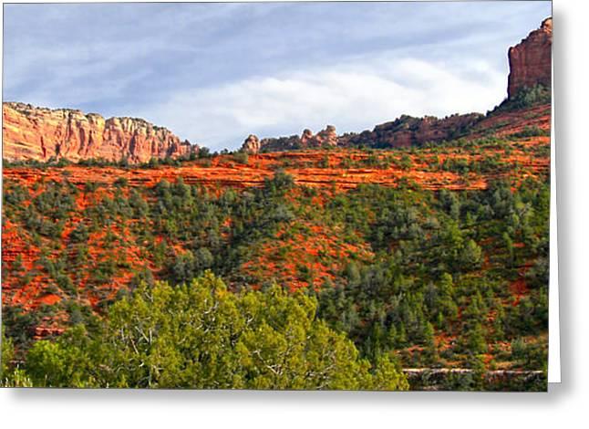Sedona Arizona Greeting Card by Jon Berghoff