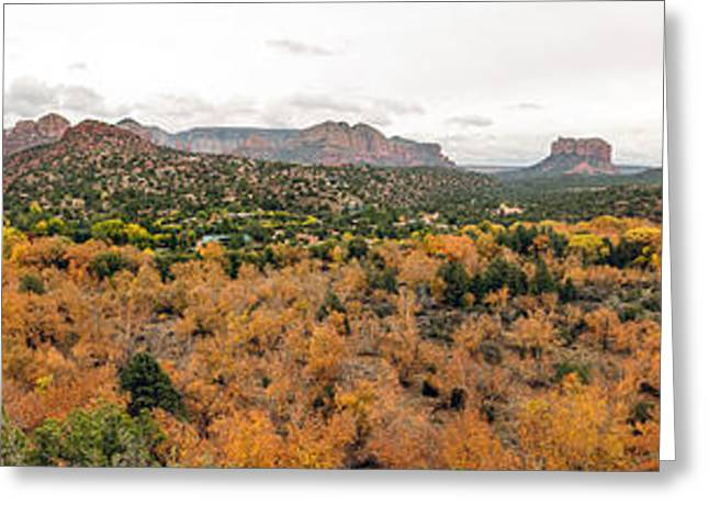 Sedona Panorama Greeting Card