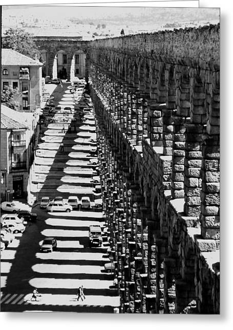 Segovia Aqueduct Greeting Card