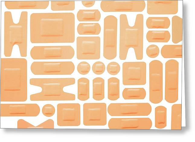 Selection Of Adhesive Plasters Greeting Card