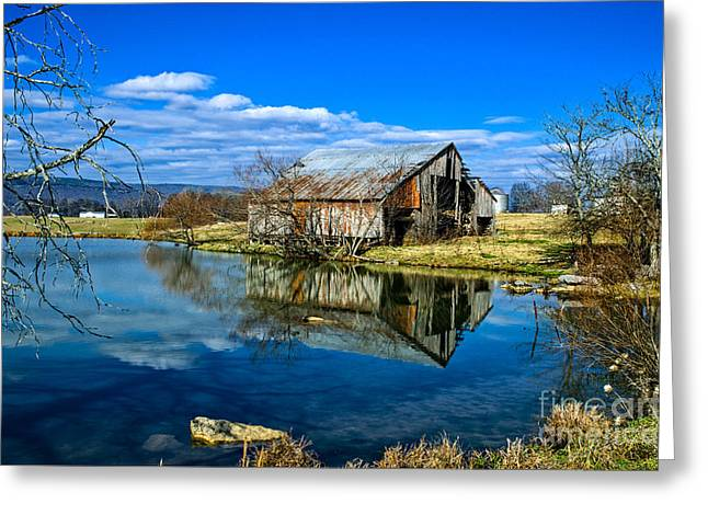 Sequatchie Valley Barn Greeting Card