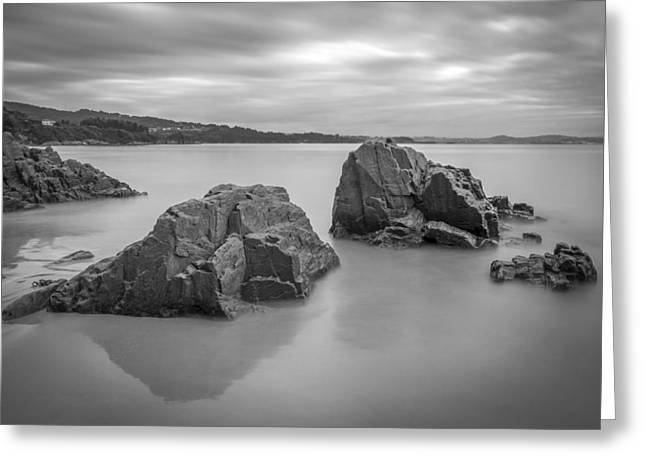 Greeting Card featuring the photograph Seselle Beach Galicia Spain by Pablo Avanzini