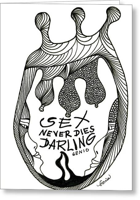 Sex Lives Greeting Card