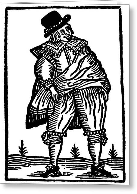 Shakespeare Falstaff Greeting Card