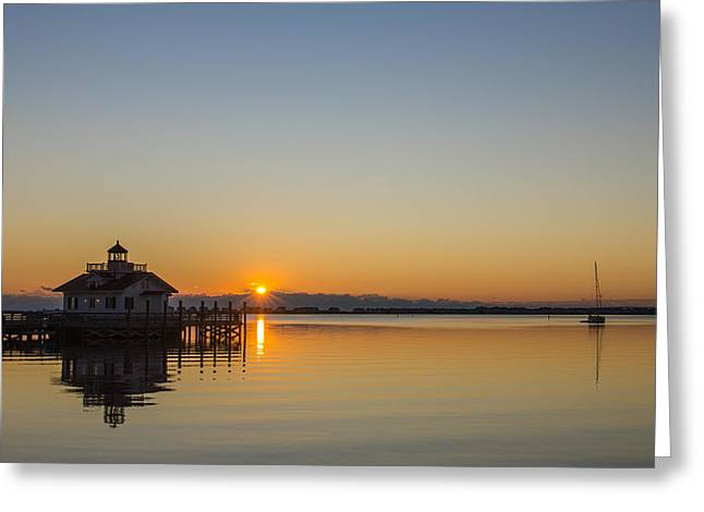 Greeting Card featuring the photograph Shallowbag Bay Sunrise by Gregg Southard