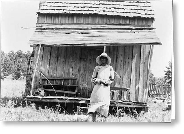 Sharecropper, 1937 Greeting Card by Granger