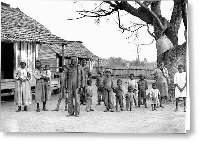 Sharecroppers, 1937 Greeting Card by Granger
