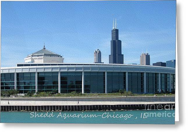 Shedd Aquarium Greeting Card