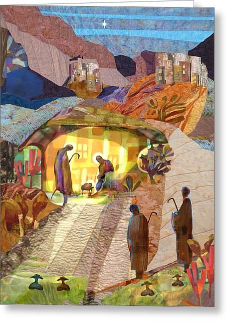 Shepherds At Bethlehem Painting By Michael Torevell