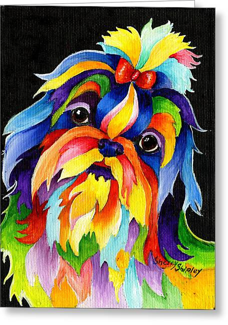 Shih Tzu Greeting Card