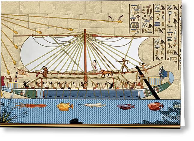 Ship Of Fools Greeting Card
