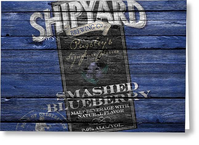 Shipyard Brewing Greeting Card by Joe Hamilton