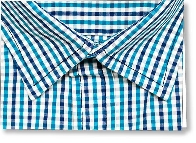 Shirt Collar Greeting Card