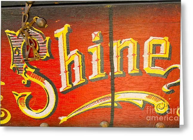 Shoe Shine Kit Greeting Card