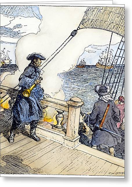 Sieur D'iberville (1661-1706) Greeting Card