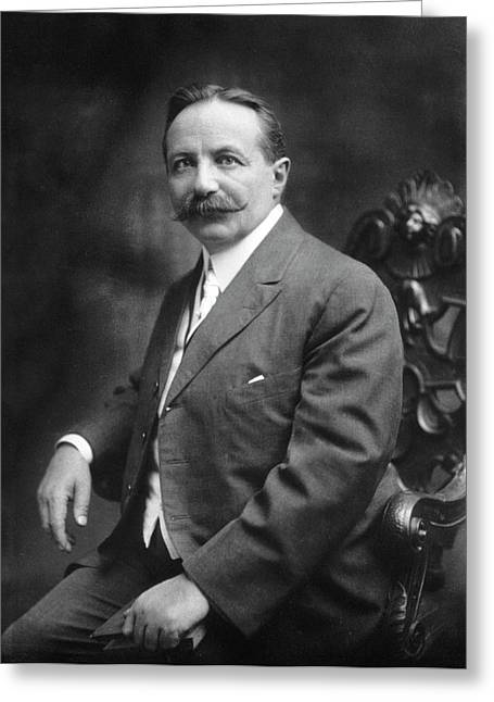 Sigard Knopf Greeting Card by National Library Of Medicine