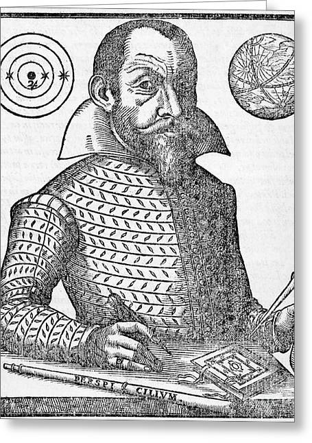 Simon Marius, German Astronomer Greeting Card