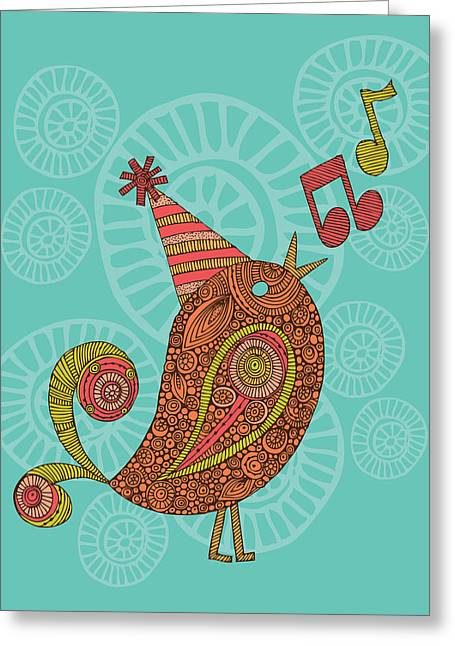 Singing Bird Greeting Card