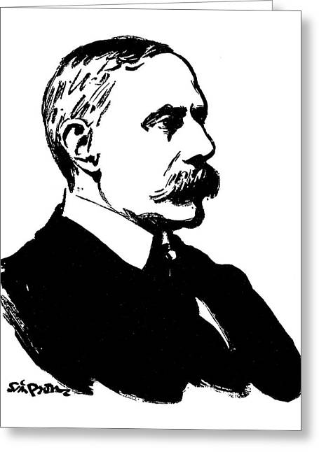 Sir Edward Elgar (1857-1934) Greeting Card by Granger
