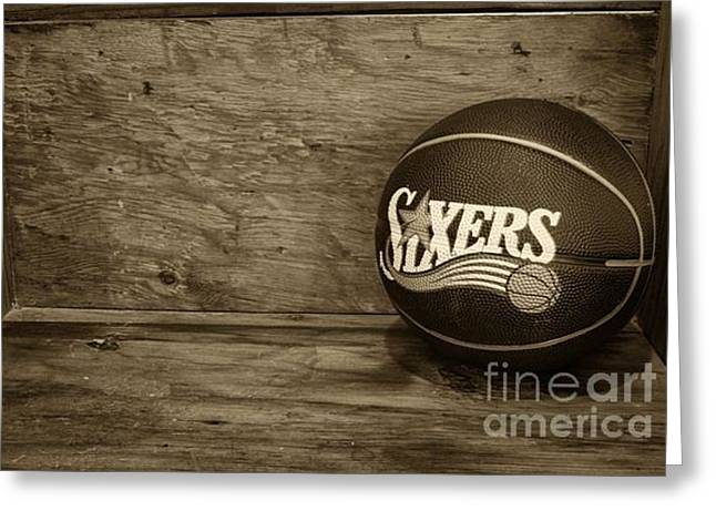 Sixers Greeting Card