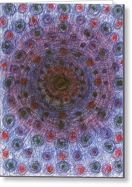 Sky Greeting Card by Wojtek Kowalski