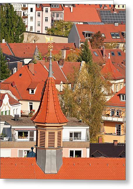 Skyline Of Bamberg, Germany Greeting Card