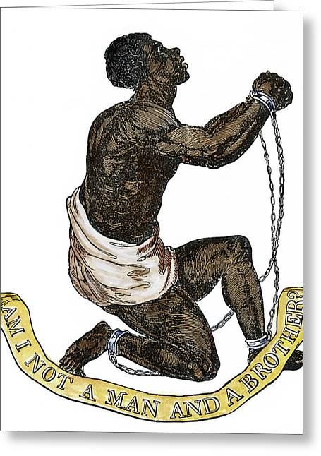 Slavery Abolition, 1835 Greeting Card