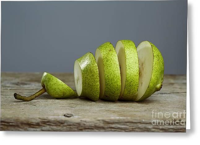 Sliced Greeting Card by Nailia Schwarz